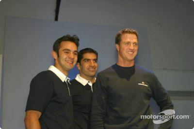 BMW WilliamsF1 Team Collection fashion show, Munich