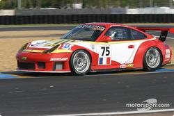#75 Thierry Perrier Porsche 911 GT3 RS: Michel Neugarten, Ian Khan, Tim Sugden