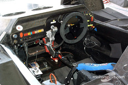 #24 Rachel Welter WR Peugeot cockpit