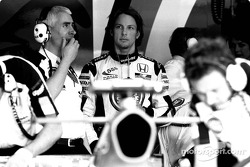 Geoff Willis and Jenson Button