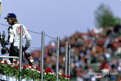 Jenson Button exits podium