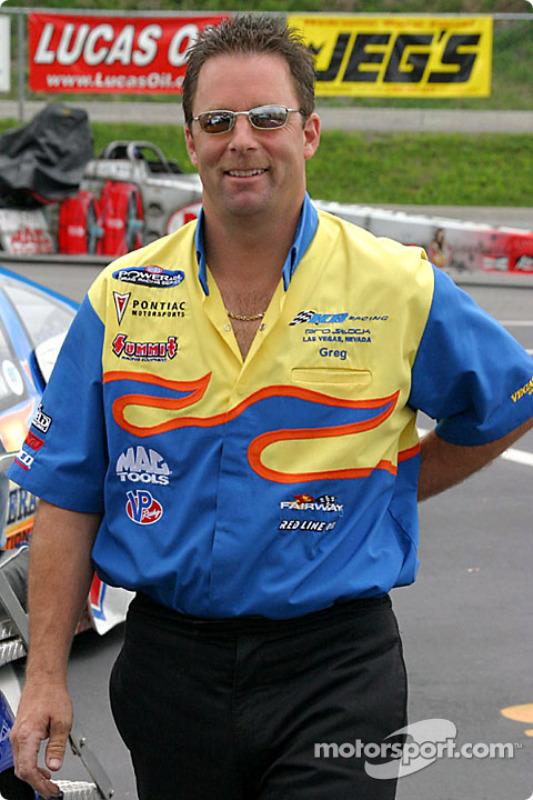 Greg Anderson a conservé sa première position en qualifications