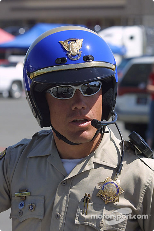 Chp Officer At Sears Point