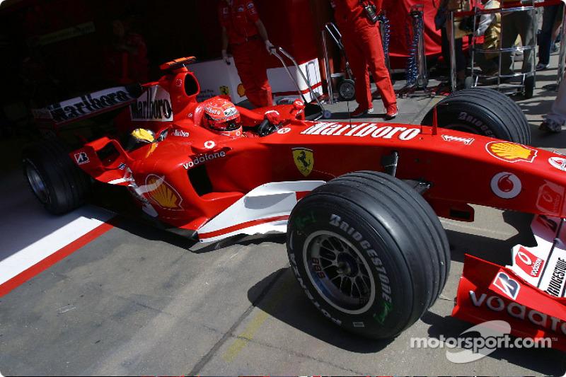 2004 Spanish GP, Ferrari F2004