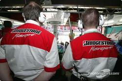 Bridgestone engineers