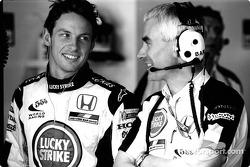 Jenson Button ve Geoff Willis