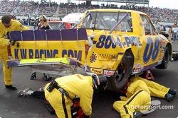 Ken Weaver's crew repairs accident damage