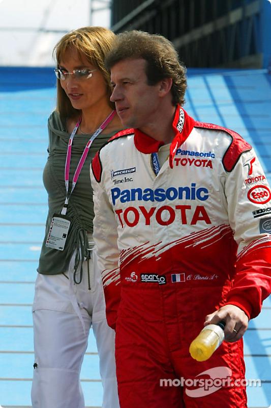 Olivier Panis et sa femme Anne