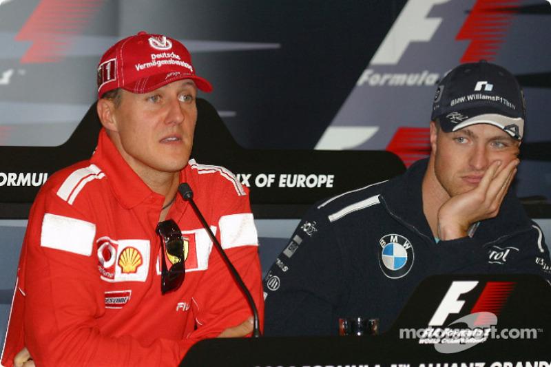 Conferencia de prensa: Michael Schumacher y Ralf Schumacher