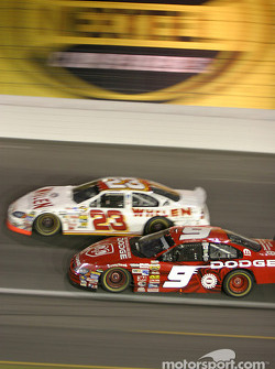 Dave Blaney and Kasey Kahne