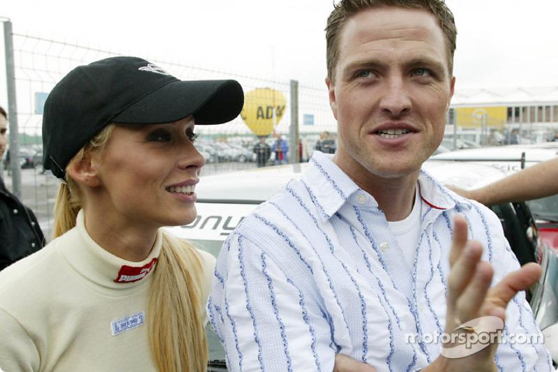 Cora and Ralf Schumacher