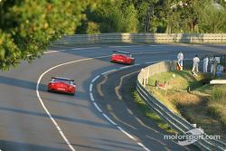 #65 Prodrive Racing Ferrari 550 Maranello: Colin McRae, Rickard Rydell, Darren Turner, and #66 Prodrive Racing Ferrari 550 Maranello: Alain Menu, Peter Kox, Tomas Enge