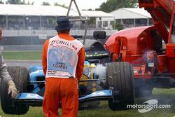 Coche de Fernando Alonso
