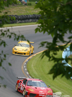 #34 Scuderia Ferrari of Washington Ferrari 360GT: Jeff Segal, Kurt Buchwald, Jim Kenton