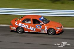 La Lexus IS300 n°0 de Eddie Mady et Andy Brumbaugh