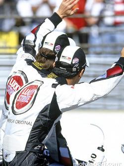 Drivers presentation: Takuma Sato and Jenson Button