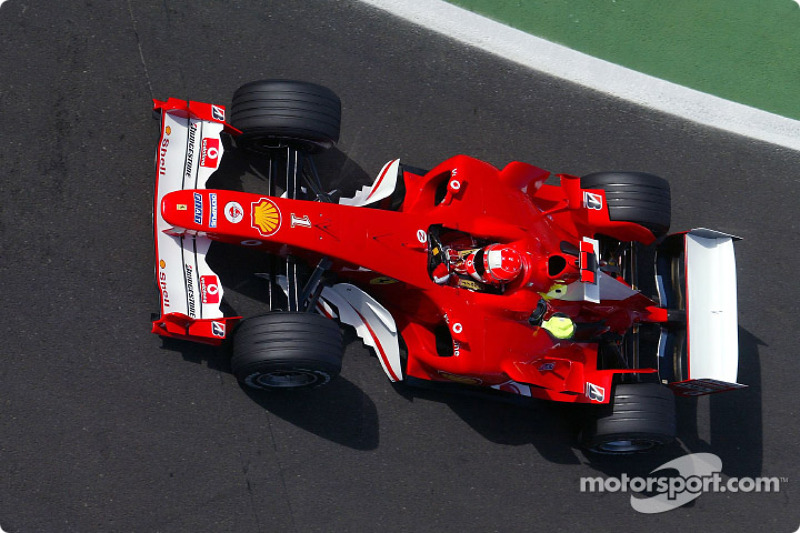 2004: Михаэль Шумахер, Ferrari F2004