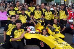 Miembros del equipo Jordan F1