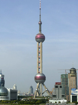 Oriental Pearl Tower in Pudong