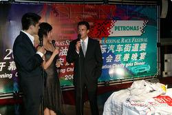 DTM Gala in Oriental Pearl Tower: Jean Alesi