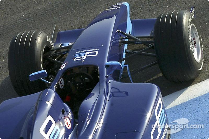 Detail of the new Dallara-Renault GP2 Series car