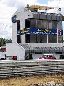 Portland International Raceway tower
