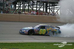 Burn out for Greg Biffle