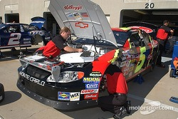 The #5 Kellogg's Chevrolet gets prepared for Friday's practice