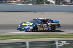 #15 Michael Waltrip qualifies for the Brickyard 400