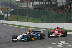 Giancarlo Fisichella and Rubens Barrichello
