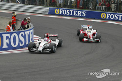 Jenson Button et Ricardo Zonta