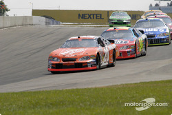 Tony Stewart takes the lead