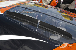 Tony Stewart rear window