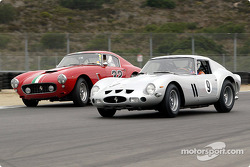 # 9 1962 Ferrari 250 GTO, John Mozart, #32 1960 Ferrari 250 GT SWB, Jerry Lynch