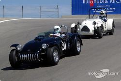 #20 1953 Kurtis 500S, Duncan Emmons, #3 1949 Jaguar-Parkinson Special, John Buddenbaum