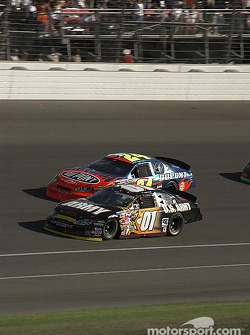 Joe Nemechek and Jeff Gordon