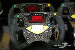 Jordan-Ford EJ14 steering wheel