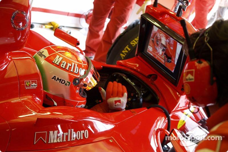 2004: homenaje a los tifosi de Ferrari