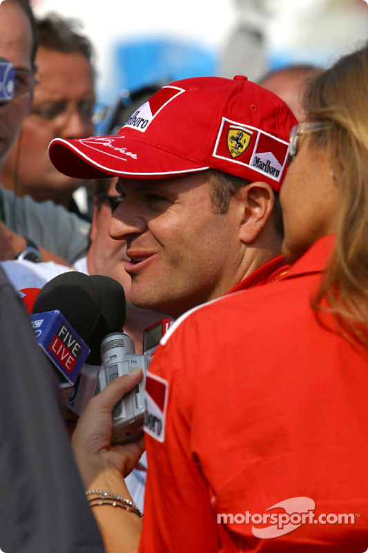 Interviews pour Rubens Barrichello