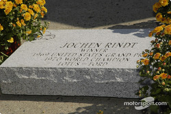 Jochen Rindt was added to the Drivers Walk of Fame