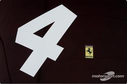 Number 4 Ferrari