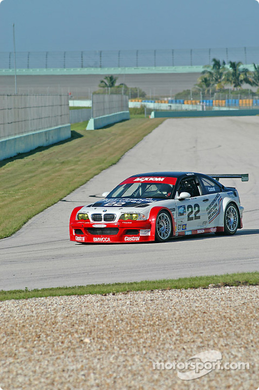 La BMW M3 n°22 du Prototype Technology Group (Joey Het, Boris Said)