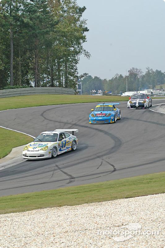La Porsche GT3 Cup n°47 du Michael Baughman Racing : Bob Ward, Michael Baughman