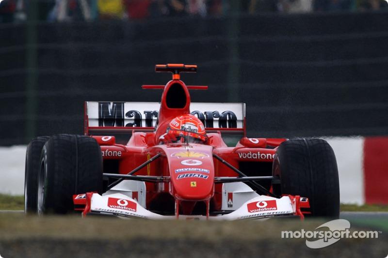 2004 - Suzuka: Michael Schumache, Ferrari F2004