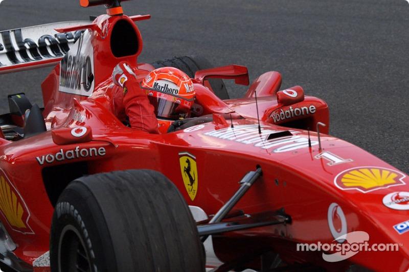 63. Japón 2004, Ferrari F2004