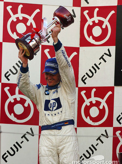 Podium: Ralf Schumacher