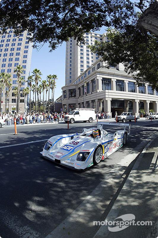 La 6e édition du Mini Le Mans de San Jose : Pierre Kaffer emmène l'Audi autour de la Plaza