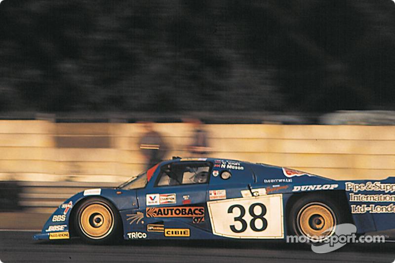 #38 Dome Racing Dome RC82/83 Ford: Chris Craft, Eliseo Salazar, Nick Mason