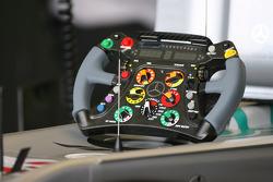Michael Schumacher, Mercedes GP steering wheel