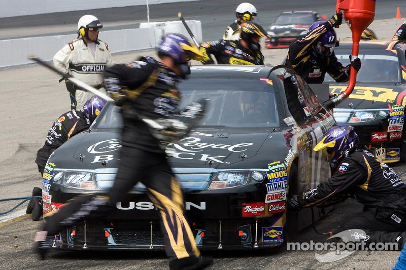 Pitstop Matt Kenseth, Roush Fenway Racing Ford